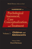 Handbook of Psychological Assessment  Case Conceptualization  and Treatment  Volume 2 Book PDF