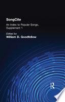 SongCite Book PDF
