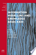 Information Modelling And Knowledge Bases Xxiii Book PDF