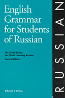 English Grammar For Students Of Russian Book PDF