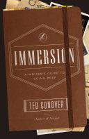 Immersion Pdf/ePub eBook