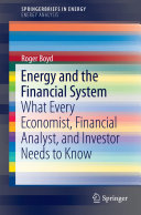Energy and the Financial System Pdf/ePub eBook