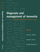 Diagnosis and Management of Dementia