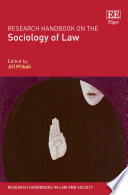 Research Handbook On The Sociology Of Law