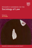 Research Handbook on the Sociology of Law Pdf/ePub eBook