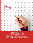Very Difficult Word Search