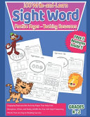100 Write and Learn Sight Word Practice Pages   Teaching Resources Book