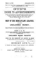 Gun s index to advertisements     for next of kin