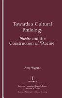 Towards a Cultural Philology