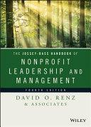 The Jossey-Bass Handbook of Nonprofit Leadership and Management Book