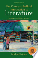The Compact Bedford Introduction to Literature with 2009 MLA Update