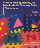 Reflective Planning  Teaching  and Evaluation for the Elementary School