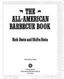 The All American Barbecue Book