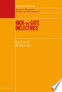 High k Gate Dielectrics