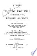 A Treatise of the Law of Bills of Exchange