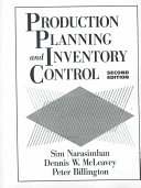 Production Planning And Inventory Control Book PDF