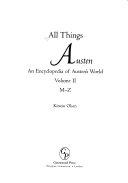 All Things Austen