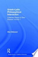 Greek Latin Philosophical Interaction Book