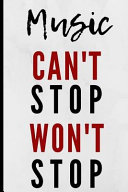 Music Can t Stop Won t Stop Book