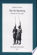 The Ila Speaking