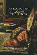 Philosophy Between the Lines