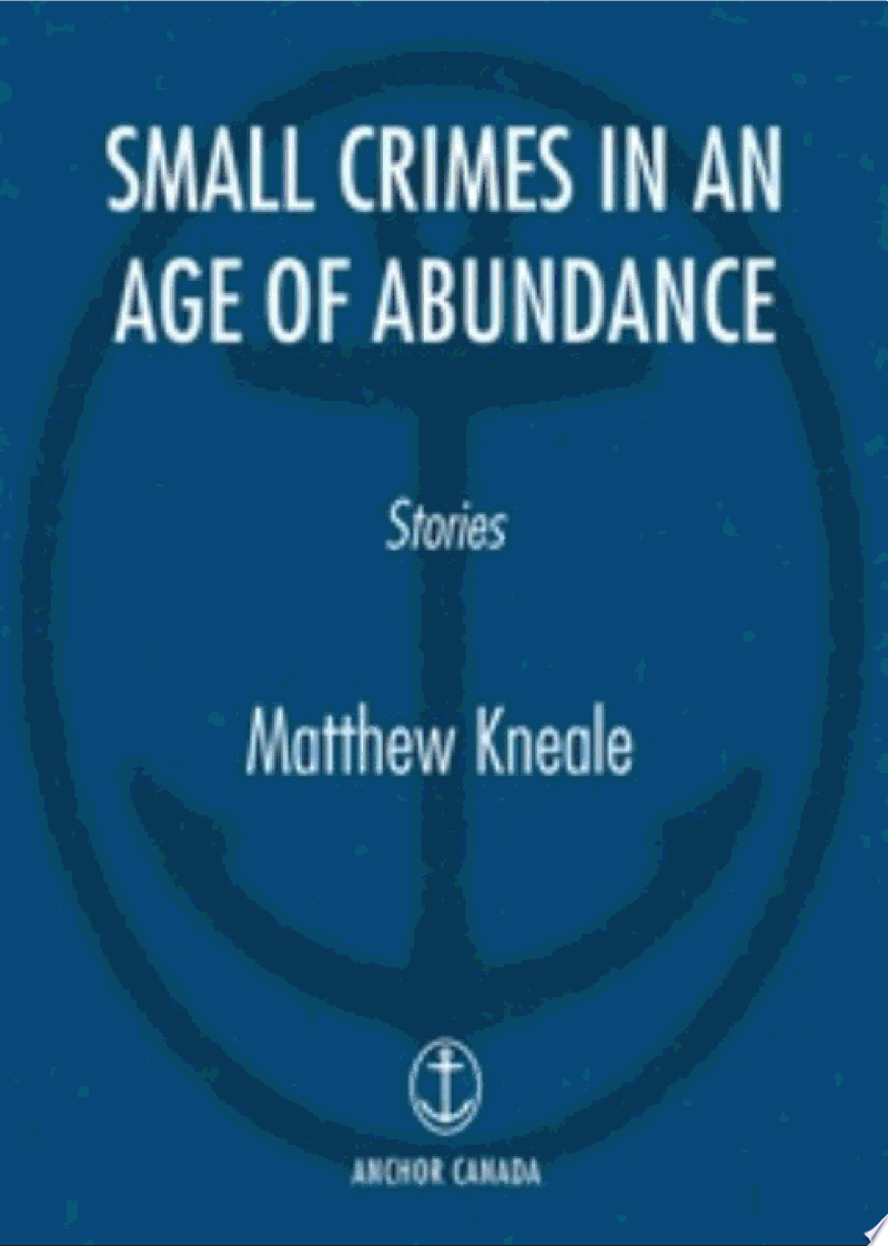 Small Crimes in an Age of Abundance banner backdrop