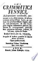 Grammatica Fennica