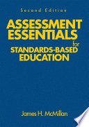 Assessment Essentials For Standards Based Education Book PDF