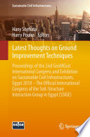 Latest Thoughts on Ground Improvement Techniques Book
