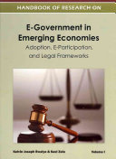 Handbook Of Research On E Government In Emerging Economies