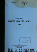 Forest and Fire Laws