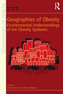 Geographies of Obesity Pdf/ePub eBook