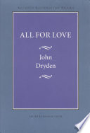 """All for Love"" by John Dryden, David M. Vieth"