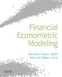 Financial Econometric Modeling