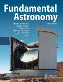 Pdf Fundamental Astronomy Telecharger