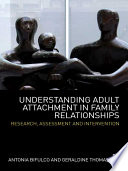 Understanding Adult Attachment in Family Relationships Book