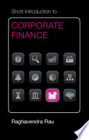 Cambridge Short Introductions: Short Introduction to Corporate Finance