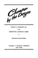 CHEAPER BY THE DOZEN Book PDF