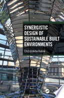 Synergistic Design of Sustainable Built Environments Book