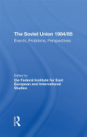The Soviet Union 1984/85 Pdf/ePub eBook