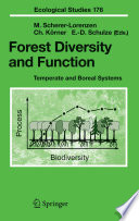 Forest Diversity and Function Book