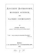 Ancient Astronomy  Modern Science and Sacred Cosmology