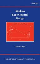 Modern Experimental Design