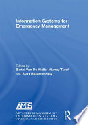 Information Systems For Emergency Management Book PDF