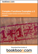 Complex Functions Examples c 3