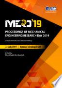 """Proceedings of Mechanical Engineering Research Day 2019"" by Mohd Fadzli Bin Abdollah"
