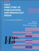 Gale Directory of Publications   Broadcast Media