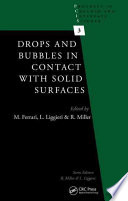 Drops and Bubbles in Contact with Solid Surfaces Book