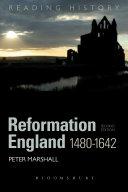 Reformation England 1480-1642 Pdf/ePub eBook
