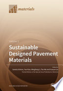 Sustainable Designed Pavement Materials Book